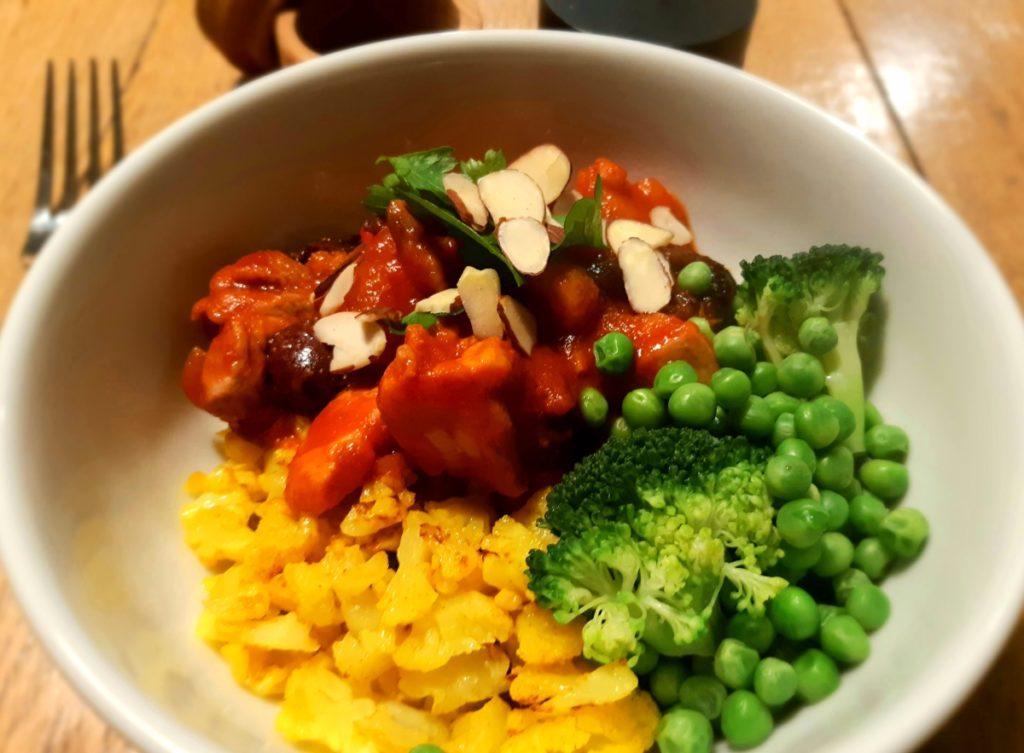 Spiced Chicken Tagine recipe
