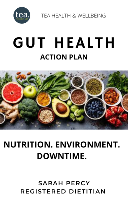 Gut Health Action Plan title page